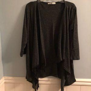 Cardigan style sweater